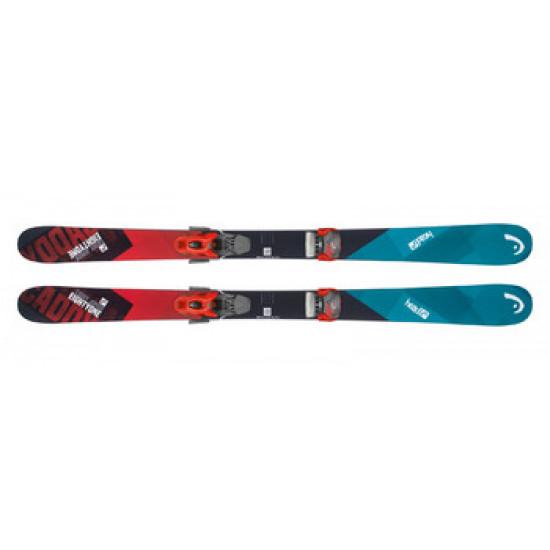 Горные лыжи Caddy  Jr black/red