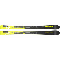 Горные лыжи WC iRace Team SLR Pro black/neon yellow